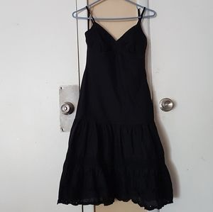 Gap Strappy Fit and Flare Little Black Dress